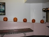 First set of carved pumpkins