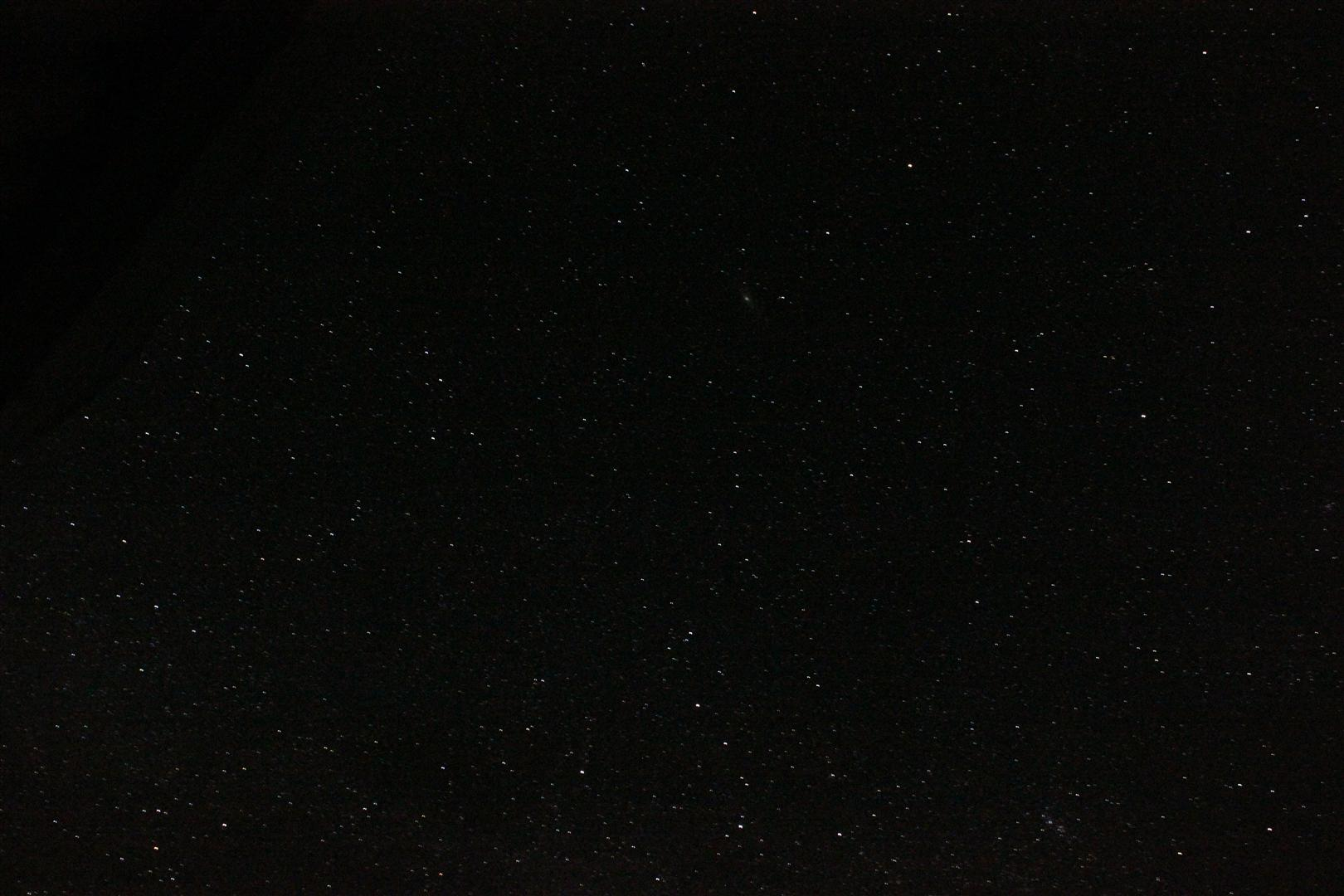 Do you see the Andromeda Galaxy?